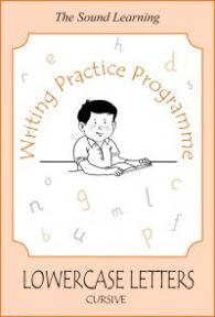 Writing Practice -  Book 5 - Lower Case (cursive)
